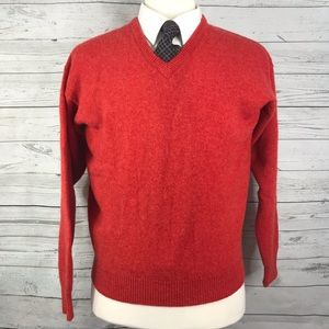 Jos.A.Bank Size xl v-neck pullover wool sweater